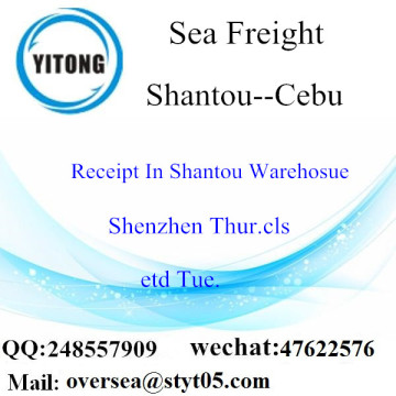 Shantou Port LCL Consolidation To Cebu