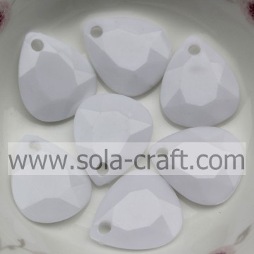 Top Selling Opaque Acrylic Petal Leaf Beads with Drop Hole