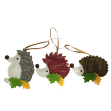 Christmas hedgehog hanging pendant decorations