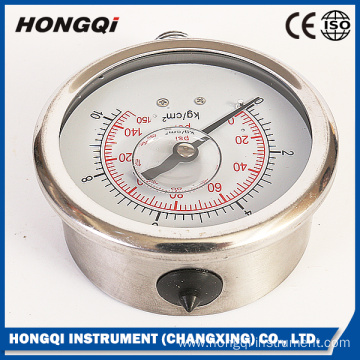 High Standard Oil Filled Mechanical Pressure Gauge