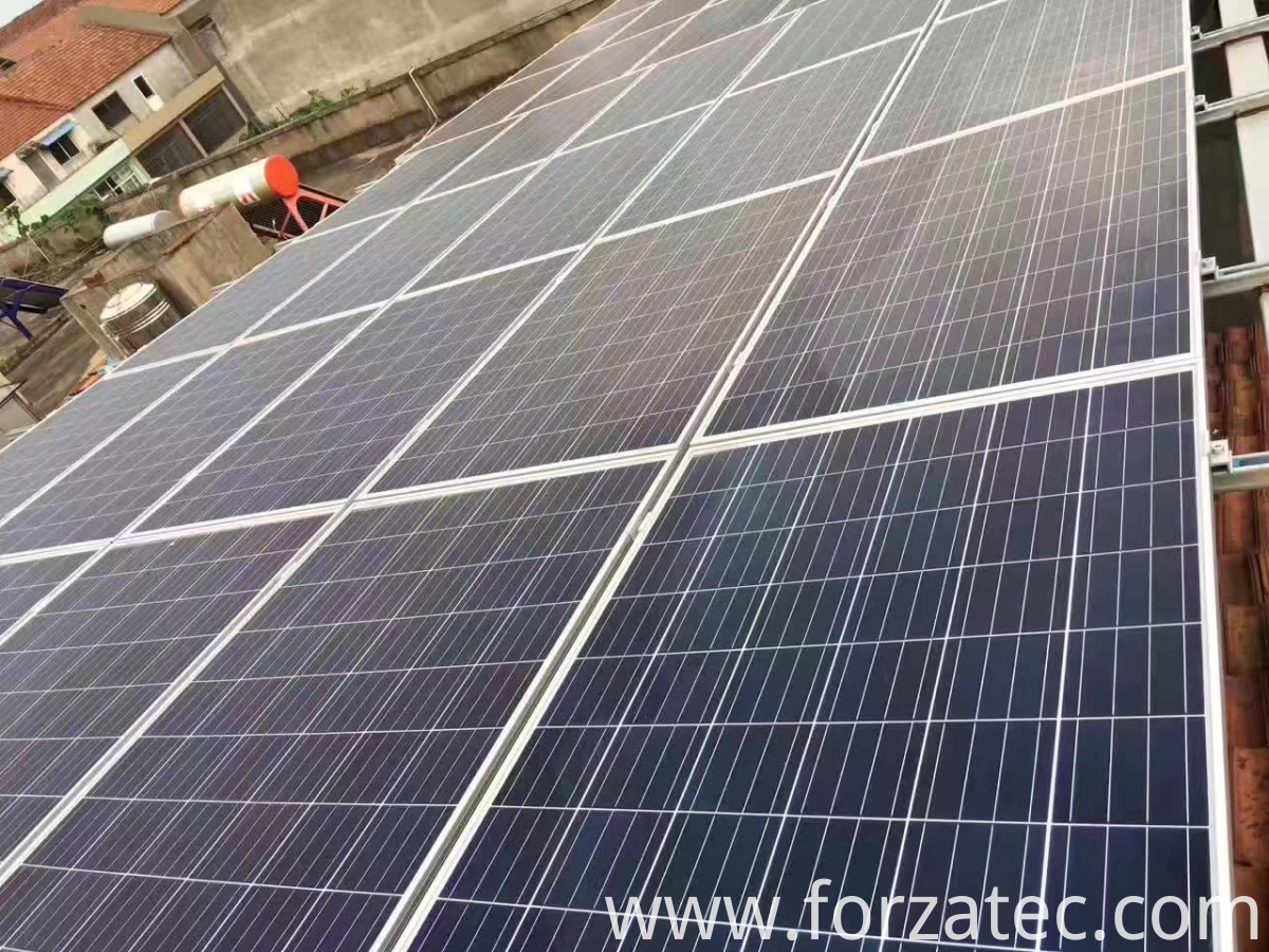 10KW solar Power station