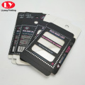 Clear Box Black Lash Packaging Custom Eyelash Boxes