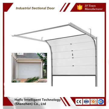 Industrial upgrading garage door