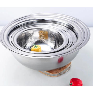Customized Kitchenware Large Stainless Steel Basin