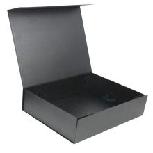 Black Magnetic Custom Apparel Gift Box Bulk