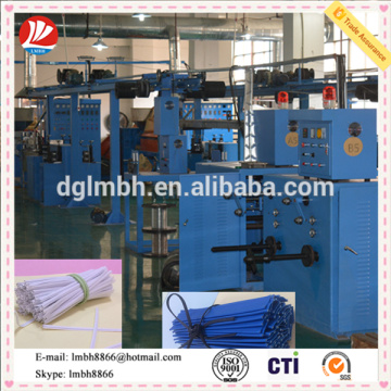 Plastic strapping band extrusion machine / Extruding line