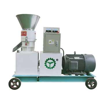 High Quality Flat Die Napier Grass Pellet Mill