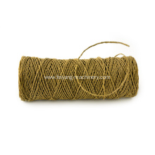 brown color twisted paper cord