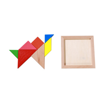 EASTOMMY Toys colourful Tangram Puzzle  game