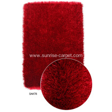 100% Polyester Thick Silk Yarn Carpet