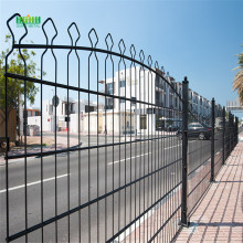 PVC Coated Double Horizontal Decofor Panel Fence