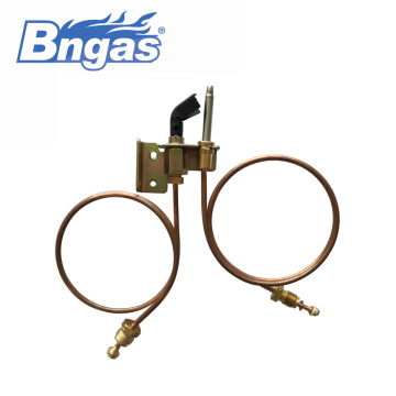 commercial burner gas pilot assembly