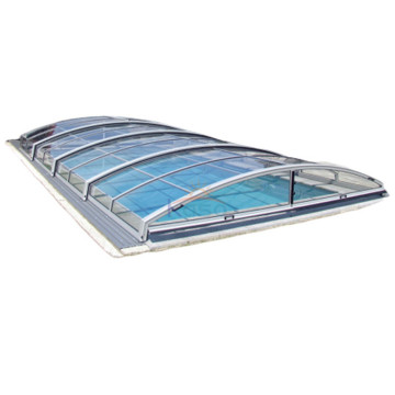Load Bearing Retractable Polycarbonate Swimming Pool Cover