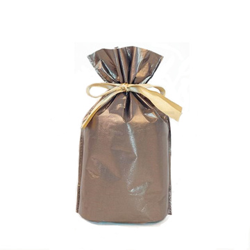 Brown Christmas Wrapping Bag For Packing Gift