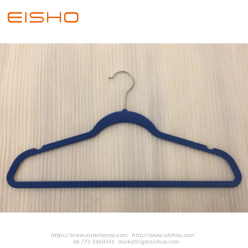 EISHO Premium Blue Velvet Hangers For Clothes