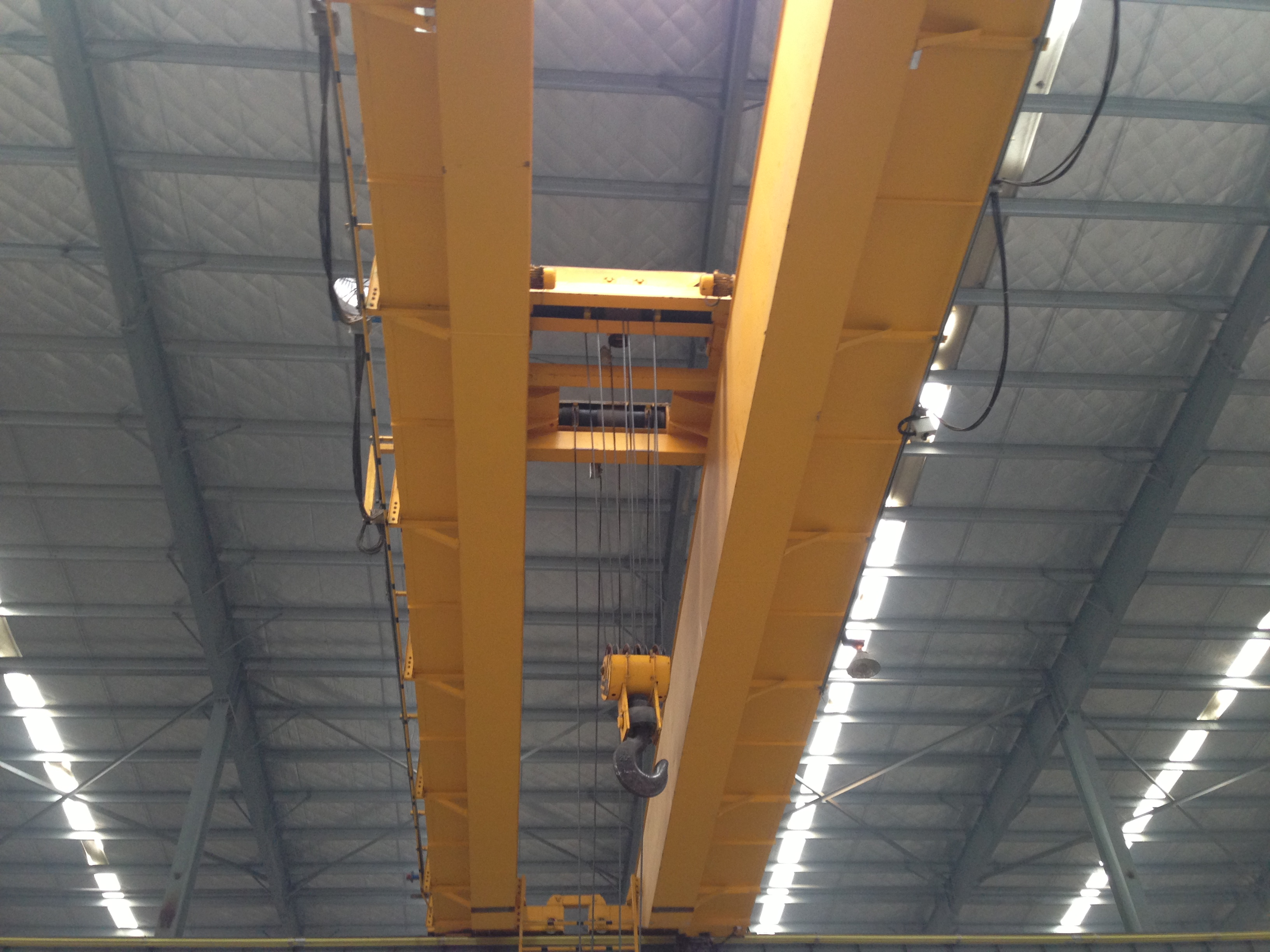 overhead bridge crane