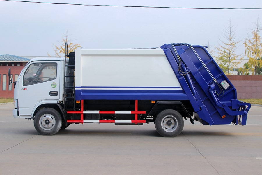 Press Pack Garbage Truck Supplier