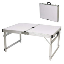 Aluminum Portable Folding Utility Table with Carrying Handle