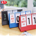Countdown desktop calendar customized wholesale can hang