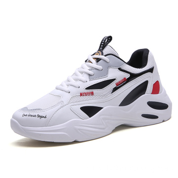 Summer men's platform breathable shoes