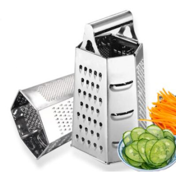 6 sides metal classic rotary cheese grater