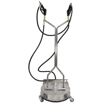 "Stainless Steel 24"" Surface Cleaner Dual Tirgger"