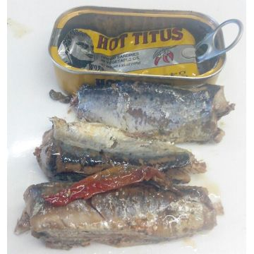 Canned Sardine in Oil with Chili