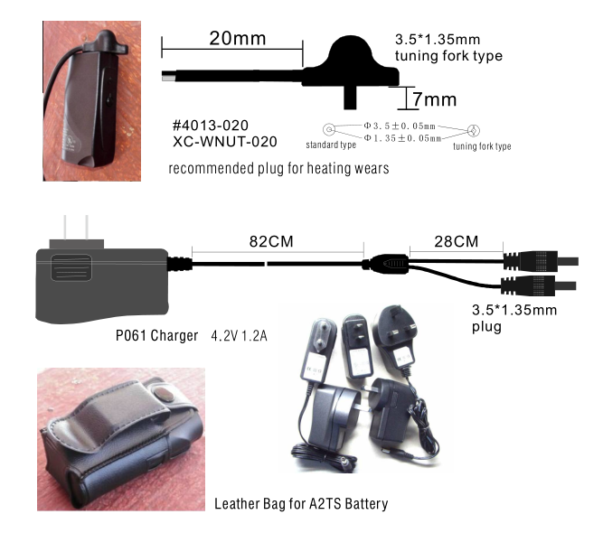 cable,bag,chargers for ac102