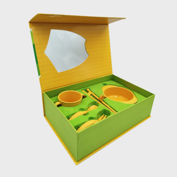 Compostable High-quality Cornstrach Training Tableware Set