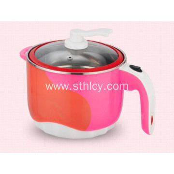 Electric Stainless Steel Pot with Color Changing