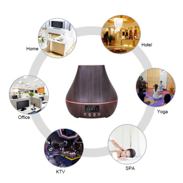 Office Home Alarm Clock Air Humidifier