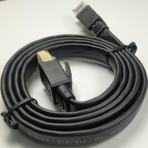 2000Mhz High Speed Gigabit Professional Cat8 Flat Cable