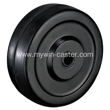 3'' Black Rubber Light Duty Industrial Caster with side brake