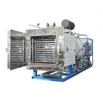 Stainless steel industrial medical type freeze dryer