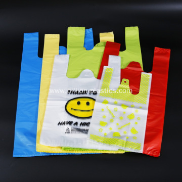 Shopping Grocery T Shirt Bag