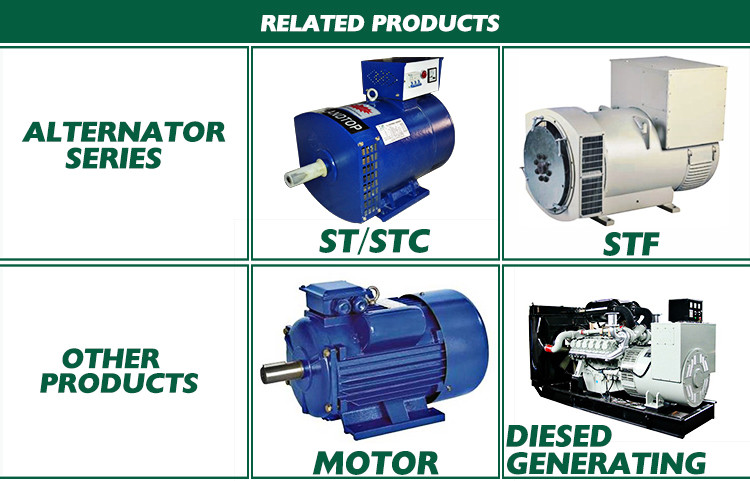 Related Products - AC Alternators