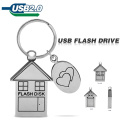 Metal House Flash Memory Usb 32gb Flash Drive