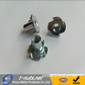 DIN1624 4Prongs Zinc Plated Tee Nut for Furniture