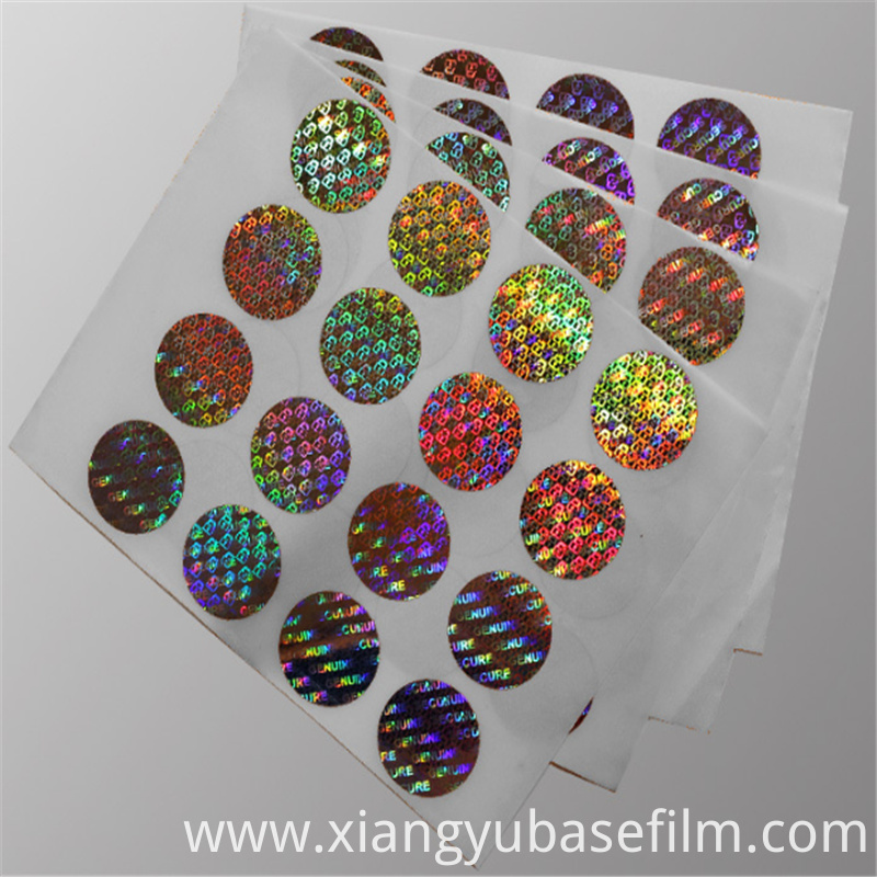 Metallization Holographic Base Film