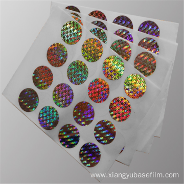 Disposible Laser Basilemma Metallization Holographic Film