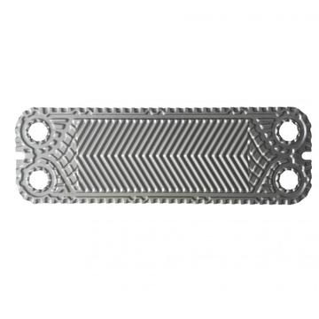 Heat exchanger high theta titanium plate
