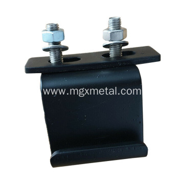 High Quality Powder Coating Black Metal Truck Top Canopy Bracket