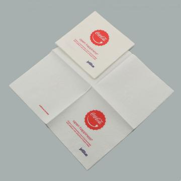 White Beverage Paper Napkins