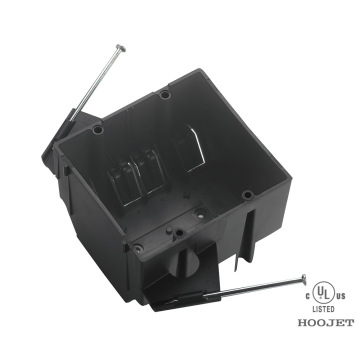 Waterproof plastic black electrical Pvc Junction Boxes