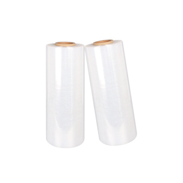 Transparent wrapping stretch film