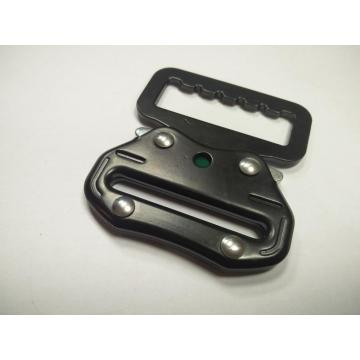 New Product Black Steel Buckle with 18KN Breaking Strength