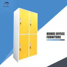 4 Doors steel office clothing locker