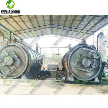 Disadvantages of Waste Pyrolysis Treatment Process Plant UK