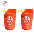 ECP Friendly Foil Stand Up Plastic Cap Bag