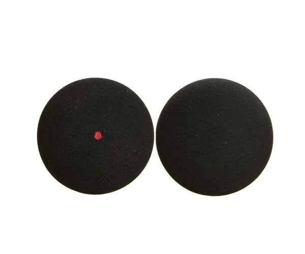 1 piece Free Shipping squash ball yellow dot, squash ball, squash racket ball, squash racquet training ball